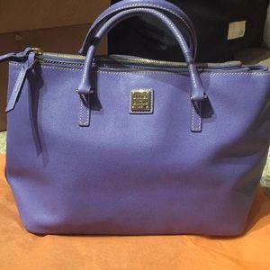 Dooney & Bourke Saffiano Tote periwinkle/violet